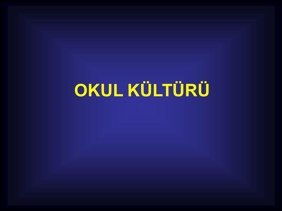 OKUL KÜLTÜRÜ