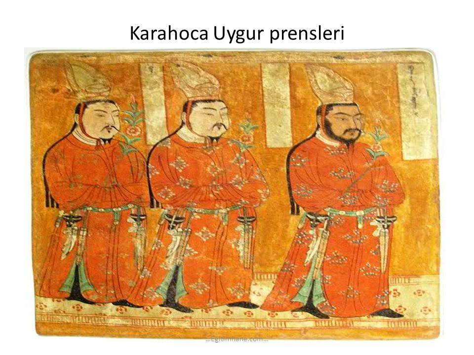 Karahoca Uygur prensleri