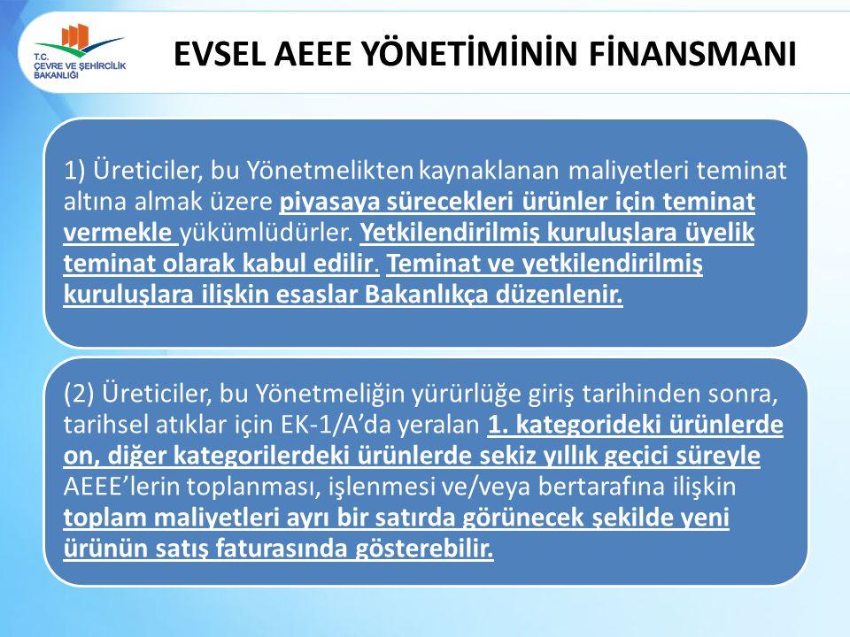 EVSEL AEEE YÖNETİMİNİN FİNANSMANI