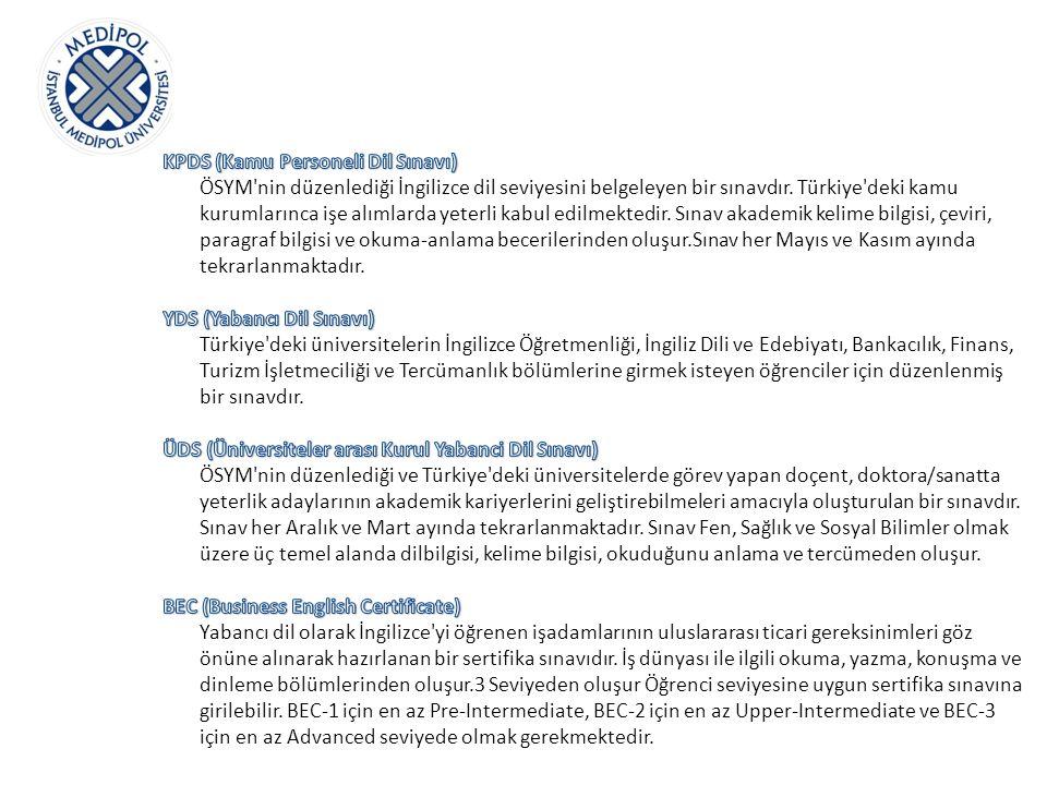KPDS (Kamu Personeli Dil Sınavı)