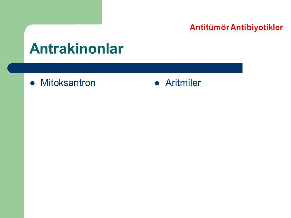 Antitümör Antibiyotikler
