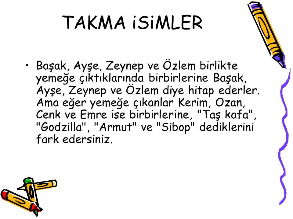 TAKMA iSiMLER