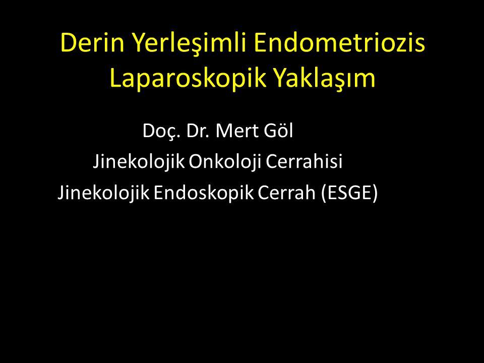 Derin Yerleşimli Endometriozis Laparoskopik Yaklaşım