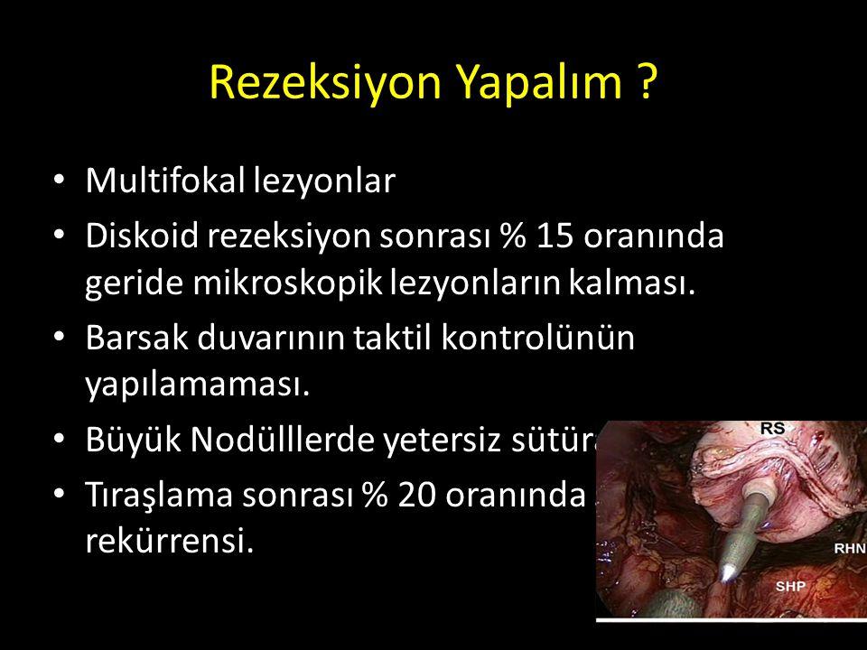Rezeksiyon Yapalım Multifokal lezyonlar