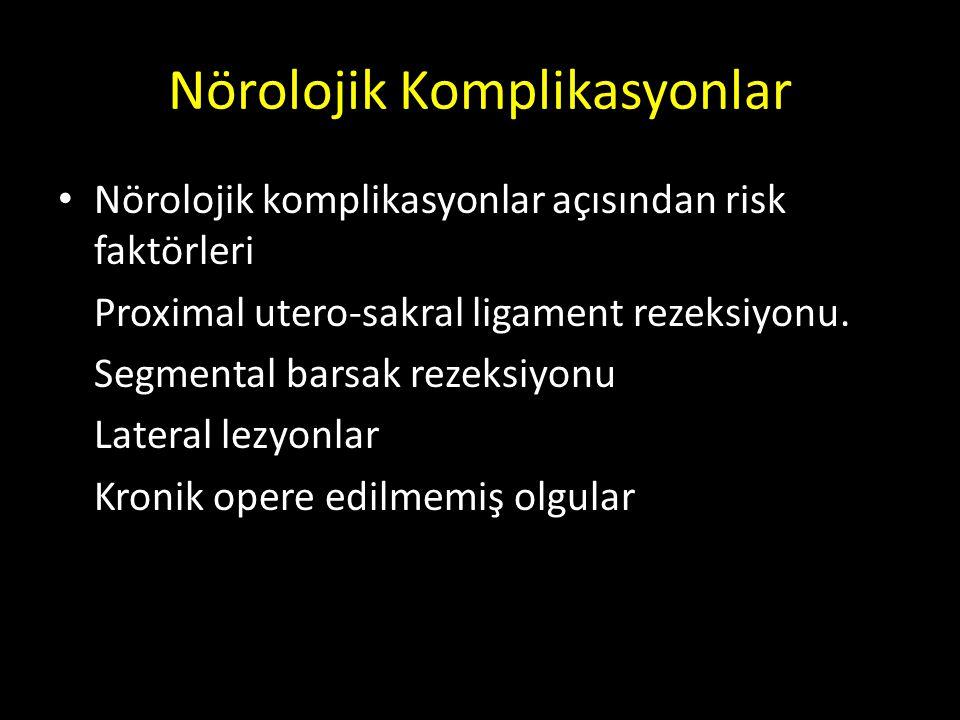 Nörolojik Komplikasyonlar