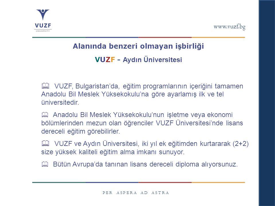 VUZF - Aydın Üniversitesi