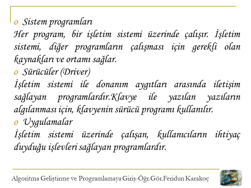 Sistem programları
