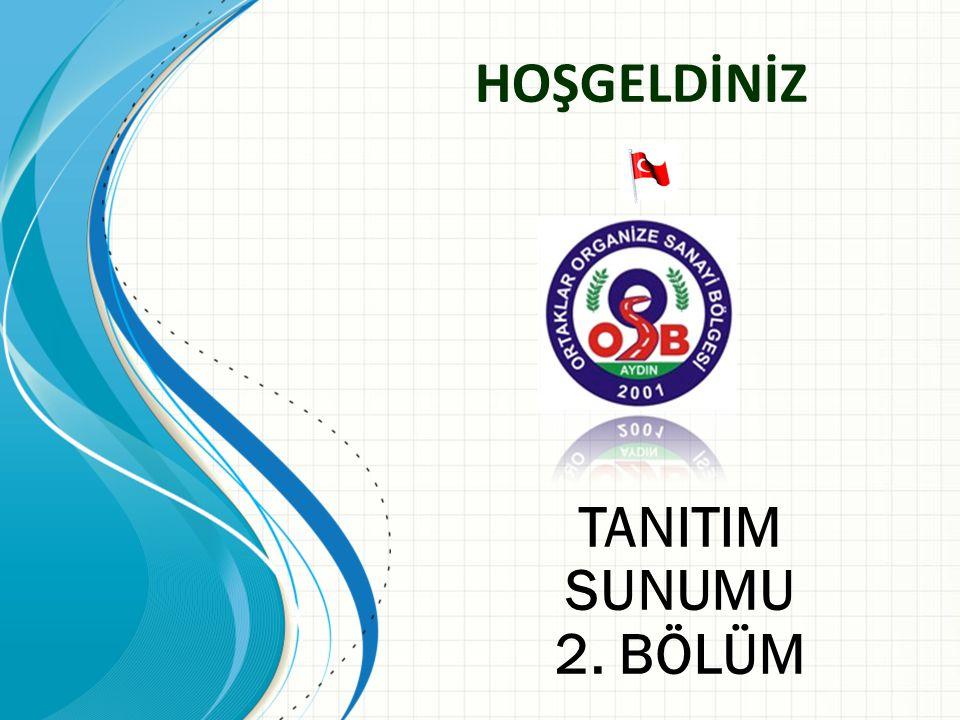 HOŞGELDİNİZ TANITIM SUNUMU 2. BÖLÜM Sections