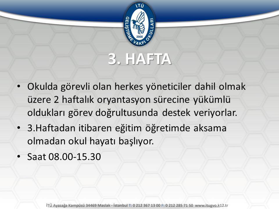 3. HAFTA