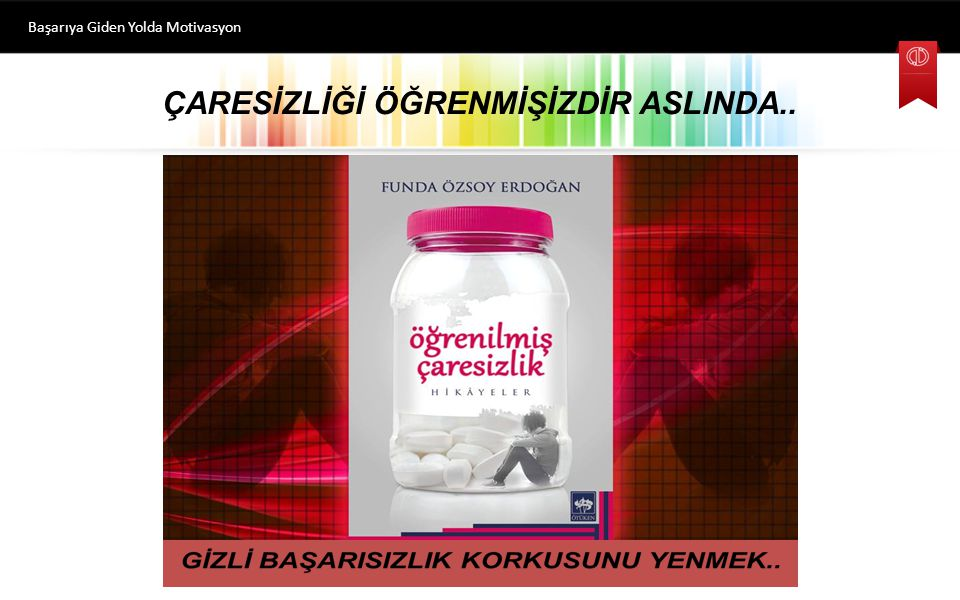 ÇARESİZLİĞİ ÖĞRENMİŞİZDİR ASLINDA..
