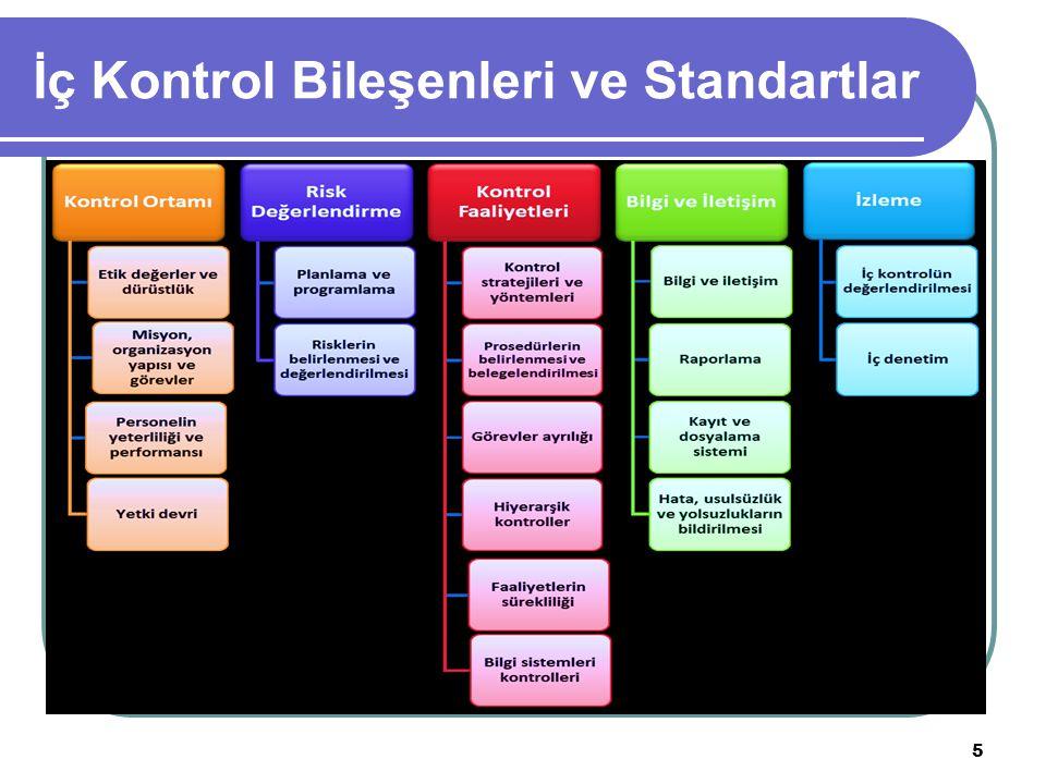 İç Kontrol Bileşenleri ve Standartlar