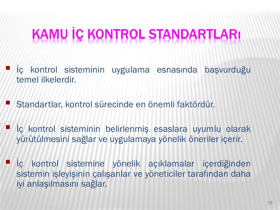 Kamu İç Kontrol Standartları