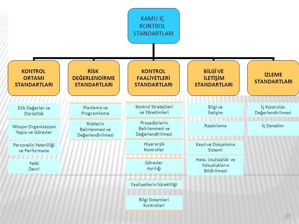 Misyon Organizasyon Yapısı ve Görevler