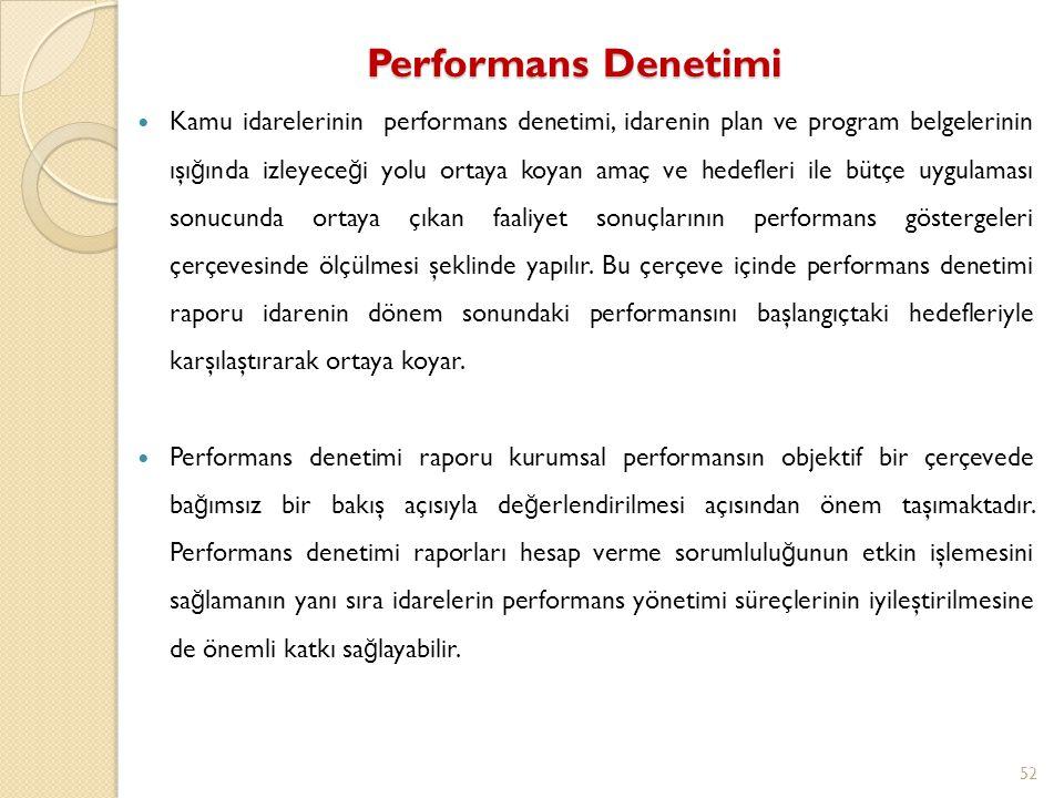 Performans Denetimi