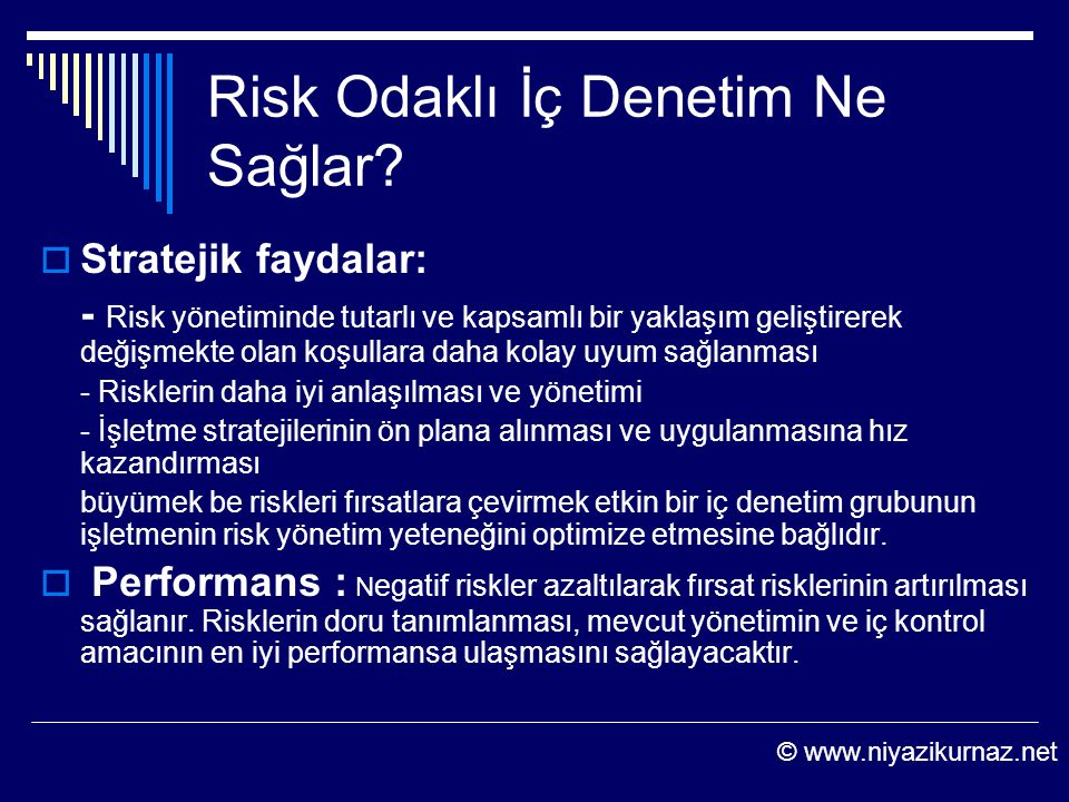 Risk Odaklı İç Denetim Ne Sağlar