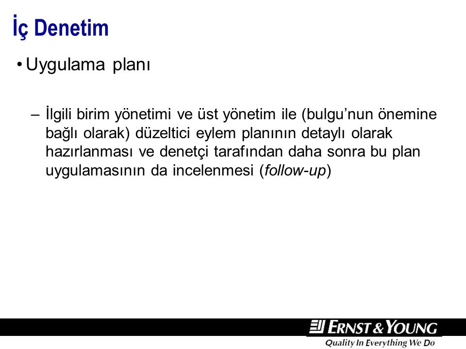 İçsel Risk ve Kalıntı Risk (Inherent & Residual)
