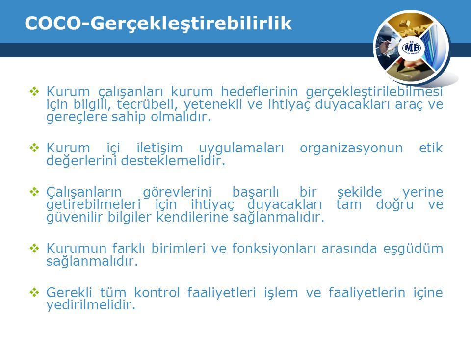 COCO-Gerçekleştirebilirlik
