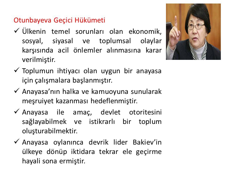 Otunbayeva Geçici Hükümeti