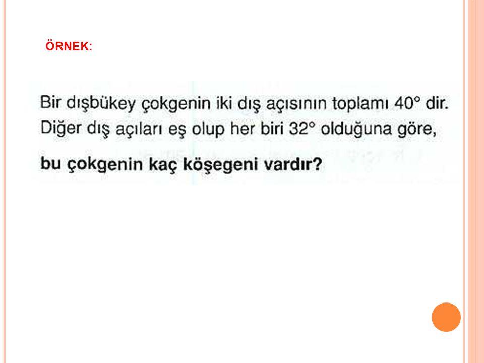 ÖRNEK: