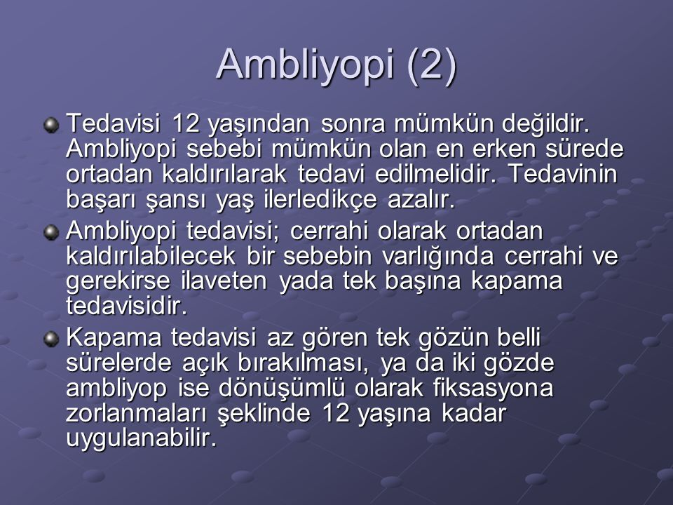 Ambliyopi (2)