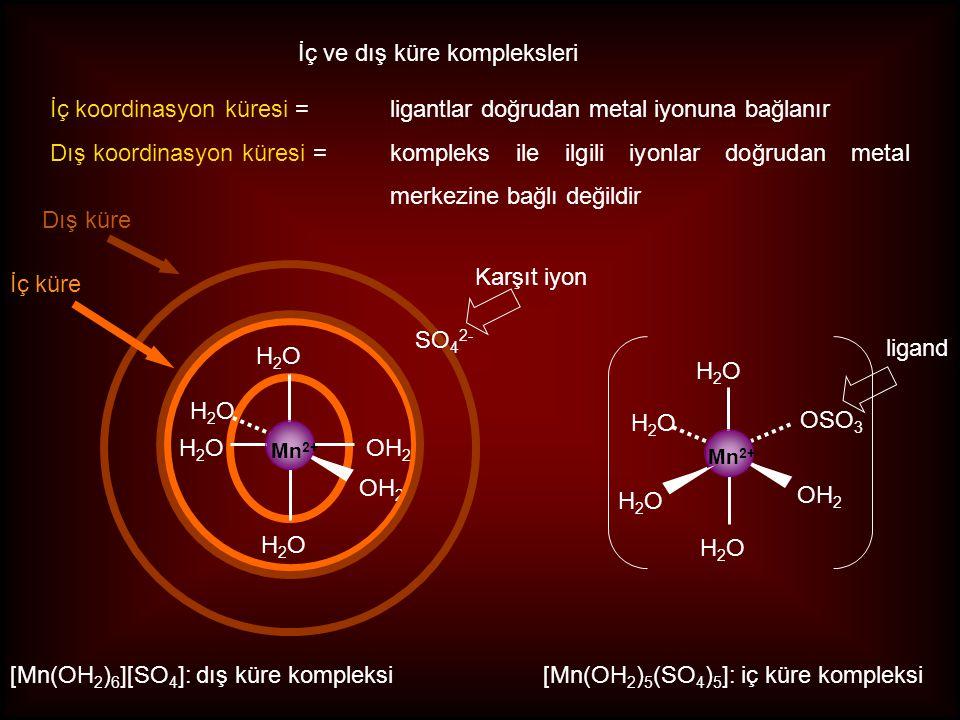 İç ve dış küre kompleksleri