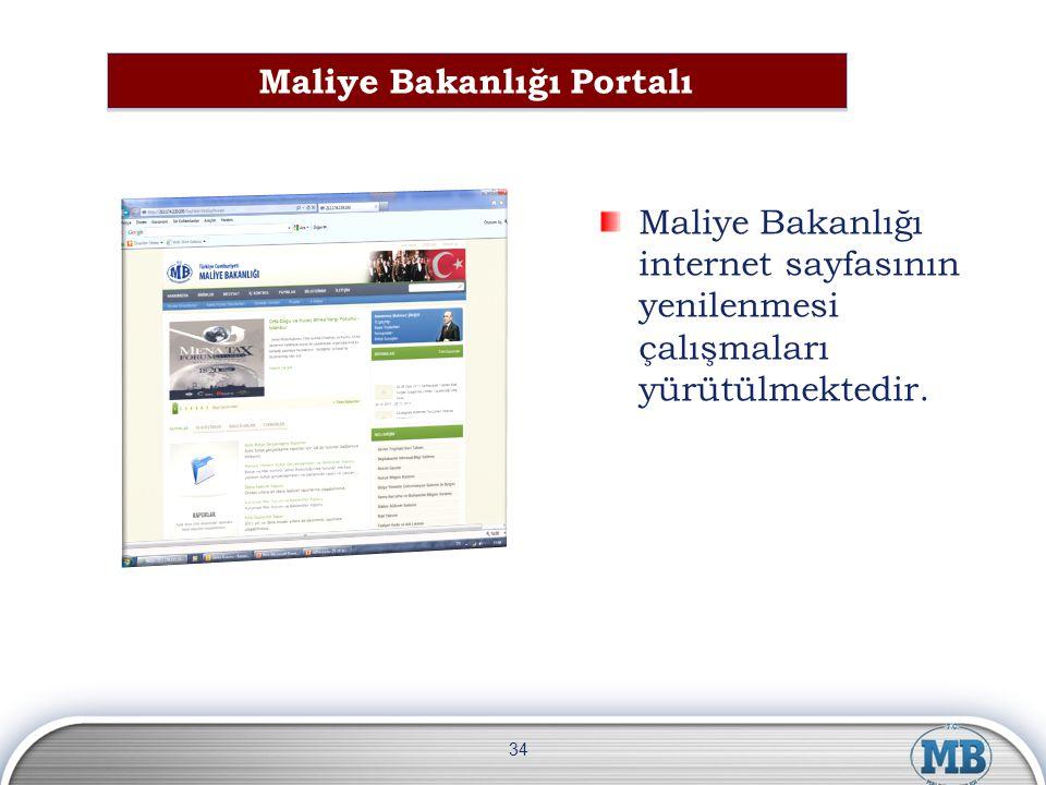 Maliye Bakanlığı Portalı