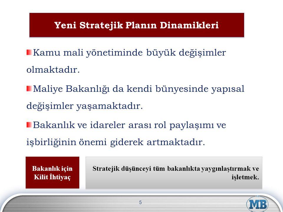 Yeni Stratejik Planın Dinamikleri Bakanlık için Kilit İhtiyaç