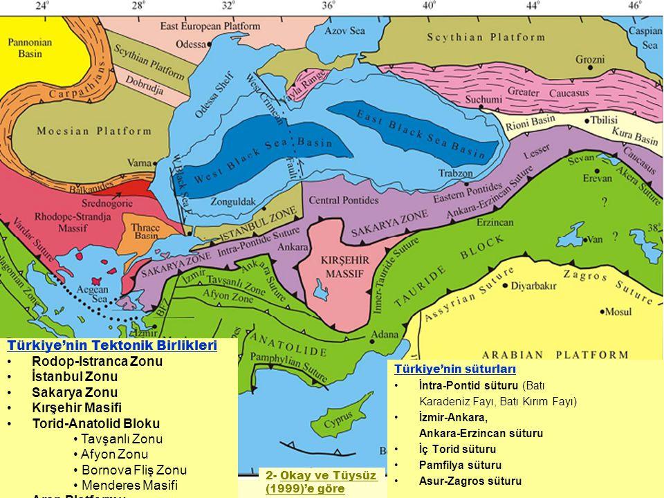 Türkiye'nin Tektonik Birlikleri Rodop-Istranca Zonu İstanbul Zonu