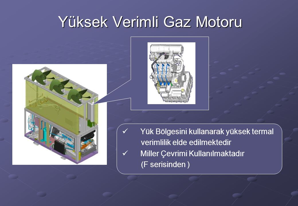Yüksek Verimli Gaz Motoru