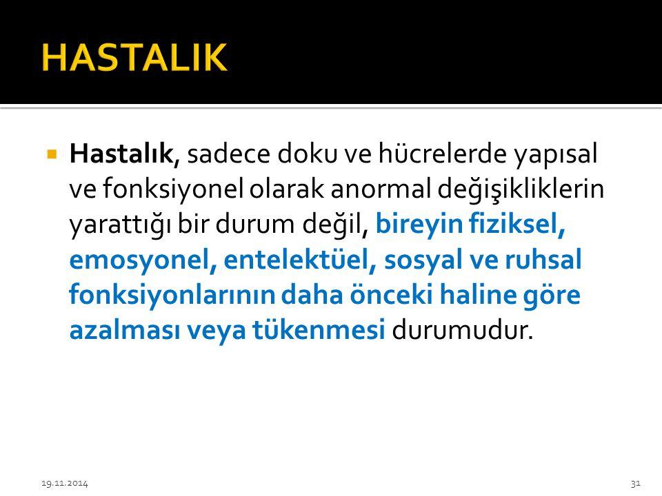 HASTALIK