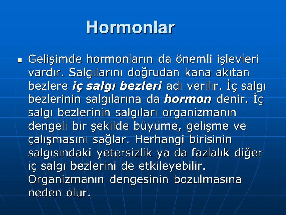 Hormonlar