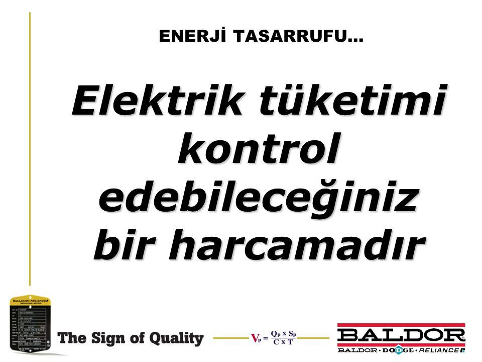 Elektrik tüketimi kontrol edebileceğiniz bir harcamadır