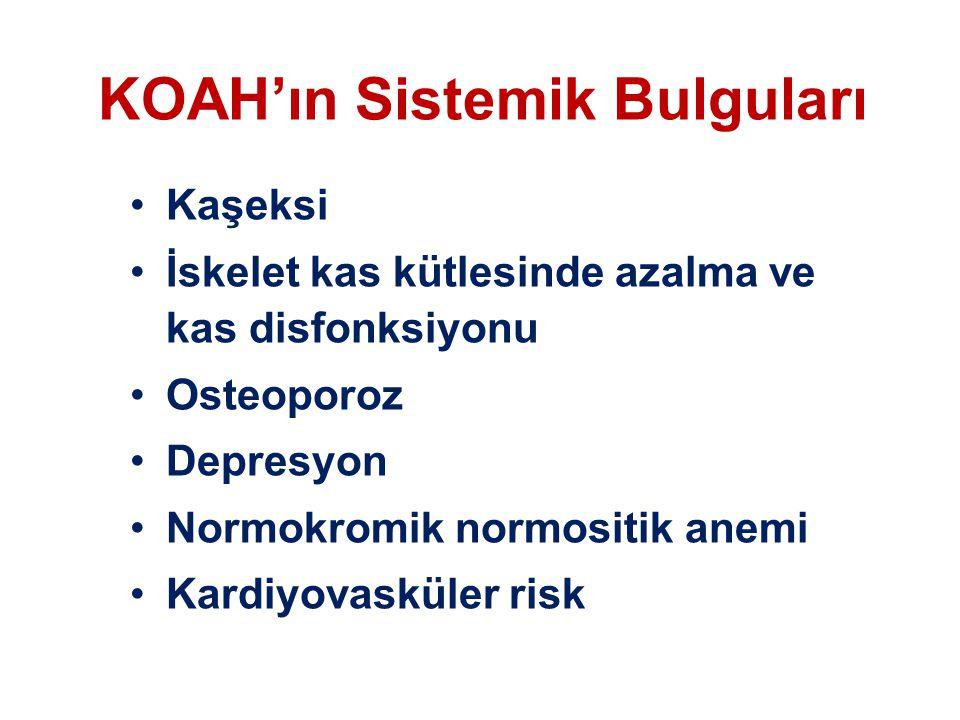 KOAH'ın Sistemik Bulguları