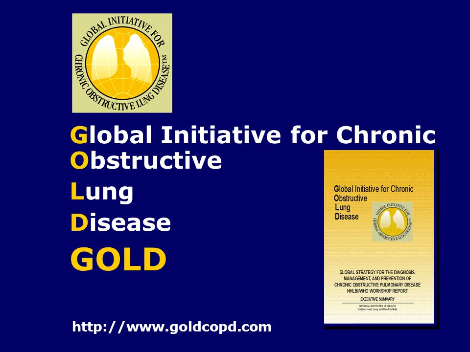GOLD Global Initiative for Chronic Obstructive Lung Disease