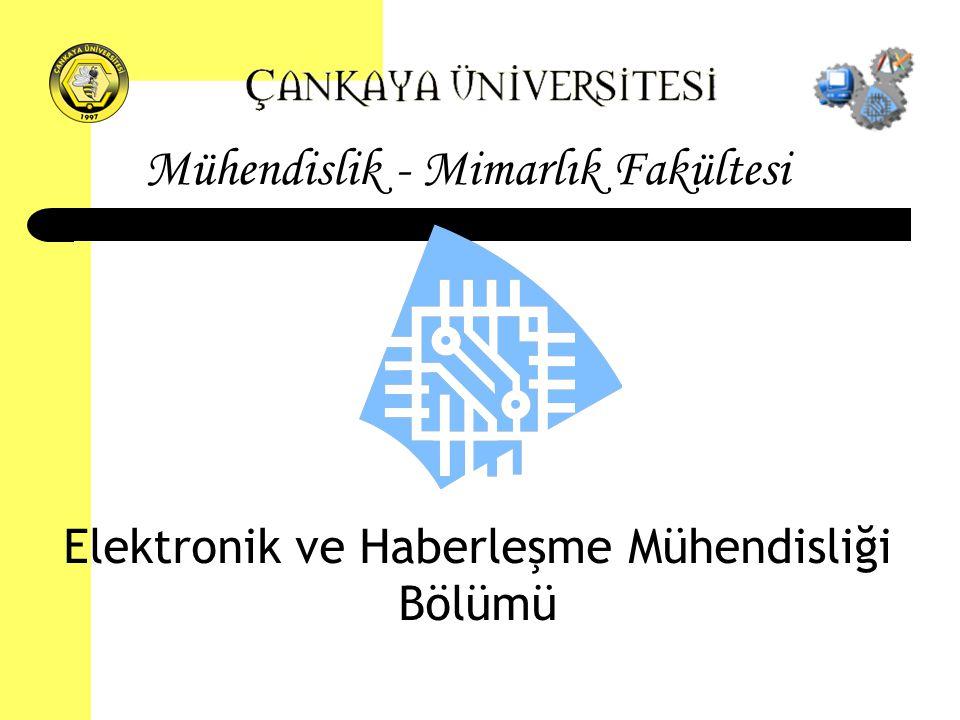 Elektronik ve Haberleşme Mühendisliği Bölümü