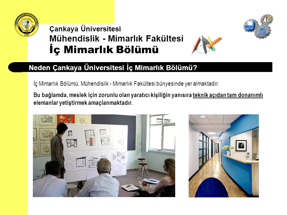 Neden Çankaya Üniversitesi İç Mimarlık Bölümü