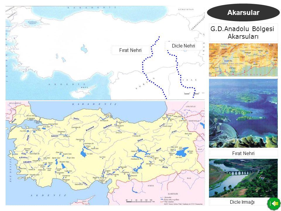 G.D.Anadolu Bölgesi Akarsuları