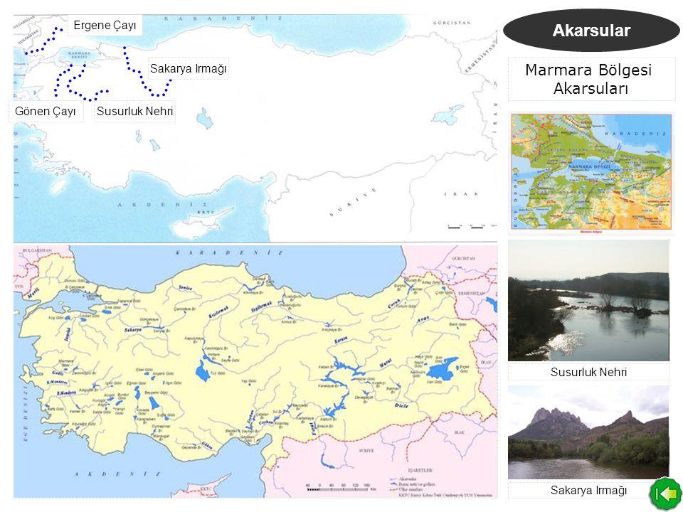 Marmara Bölgesi Akarsuları
