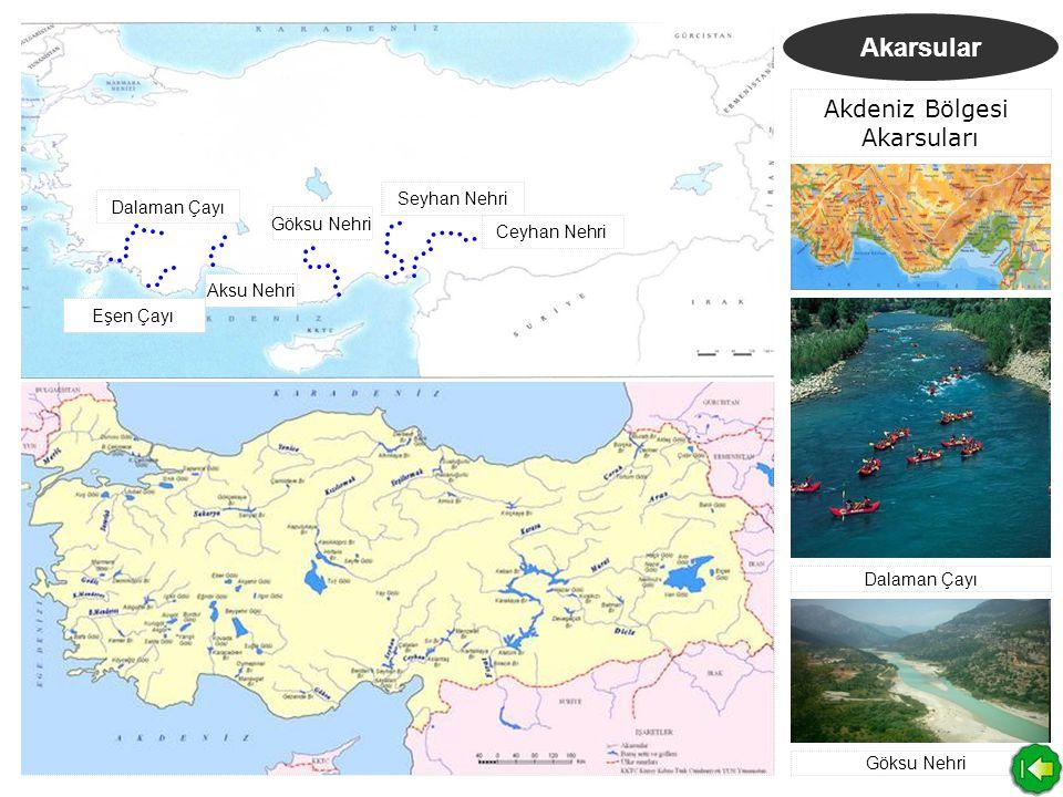 Akdeniz Bölgesi Akarsuları