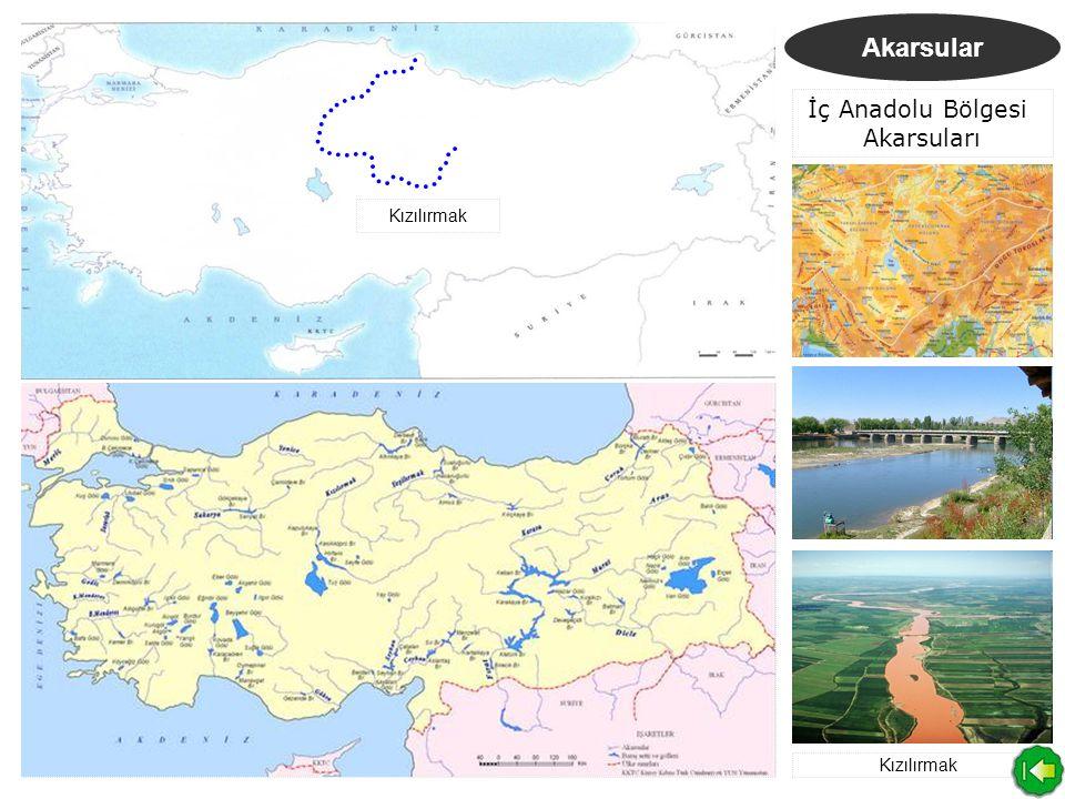 İç Anadolu Bölgesi Akarsuları