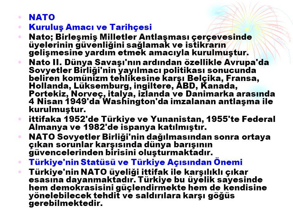 NATO Kuruluş Amacı ve Tarihçesi.