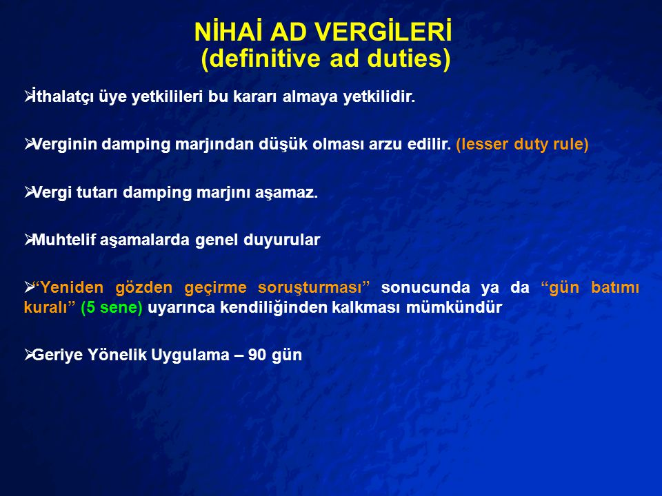NİHAİ AD VERGİLERİ (definitive ad duties)