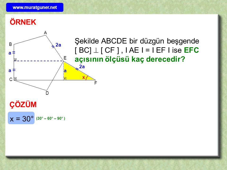 www.muratguner.net ÖRNEK. B. E. A. C. D. F.
