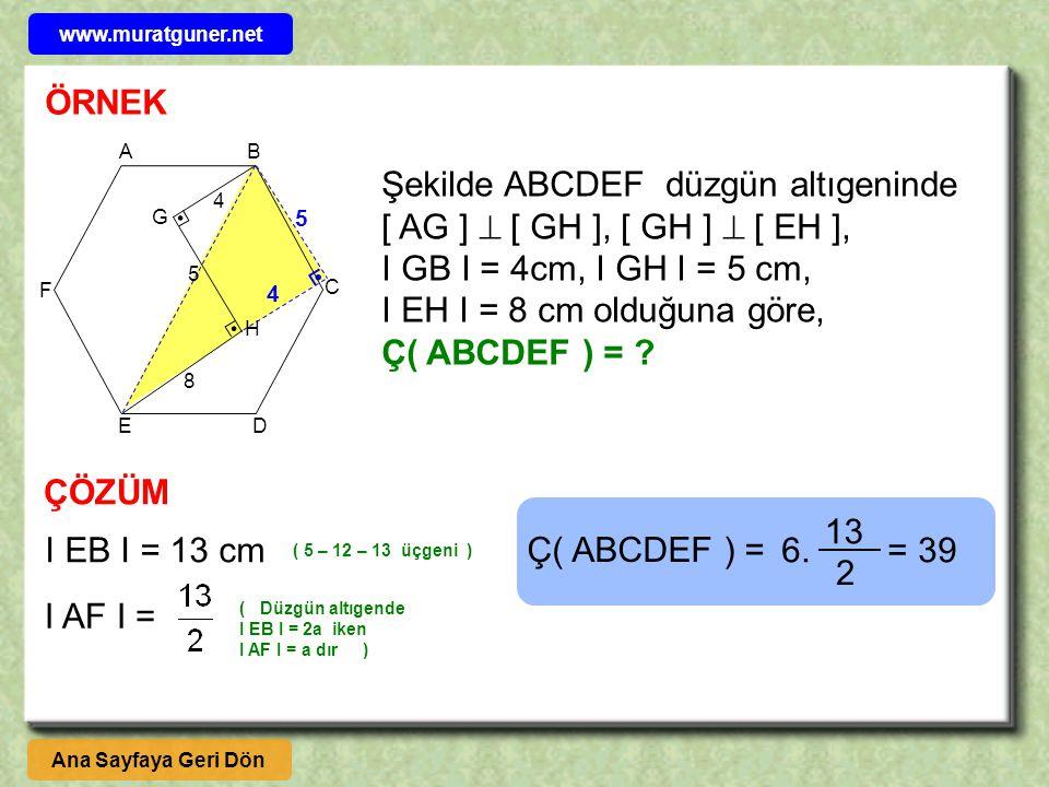 www.muratguner.net ÖRNEK. A. B. C. D. E. F. G. H.