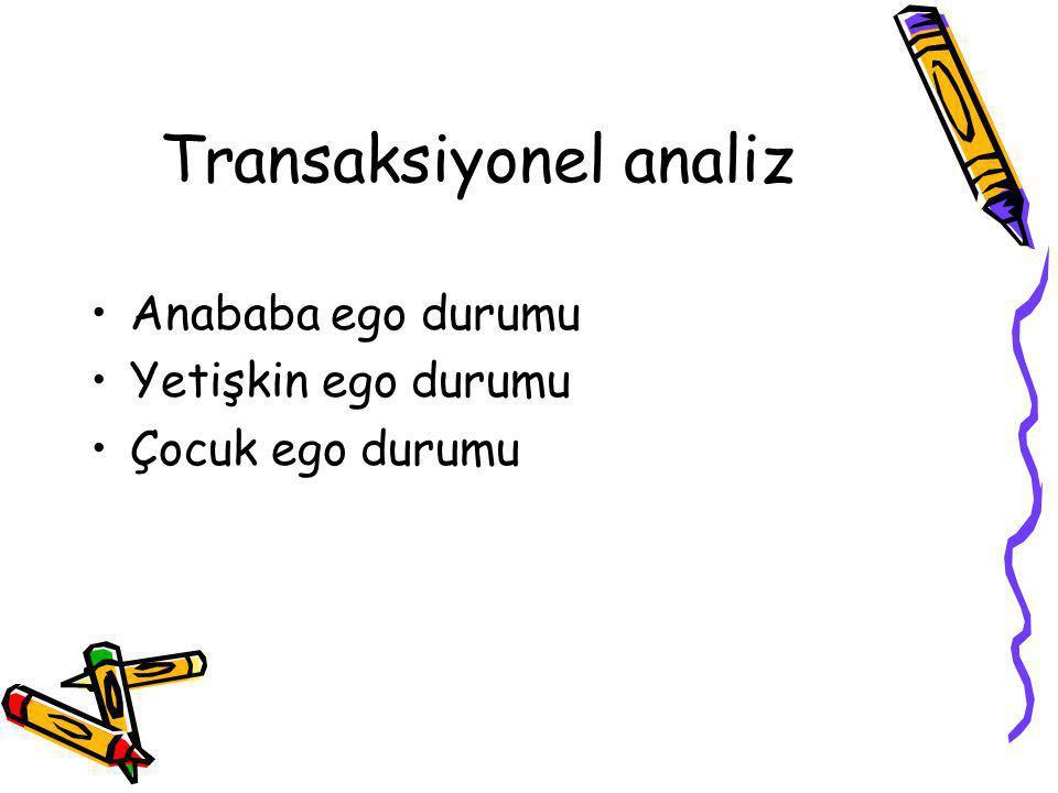 Transaksiyonel analiz