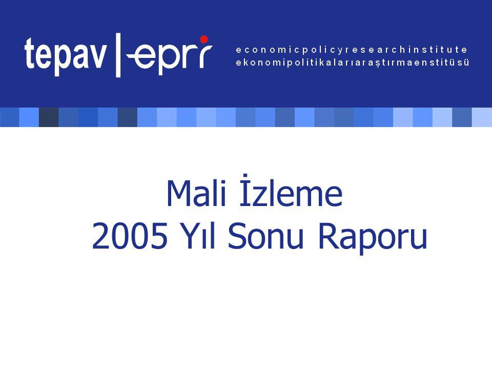 Mali İzleme 2005 Yıl Sonu Raporu