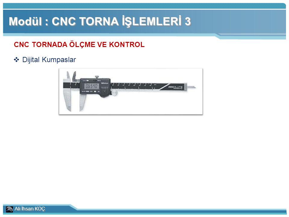 CNC TORNADA ÖLÇME VE KONTROL