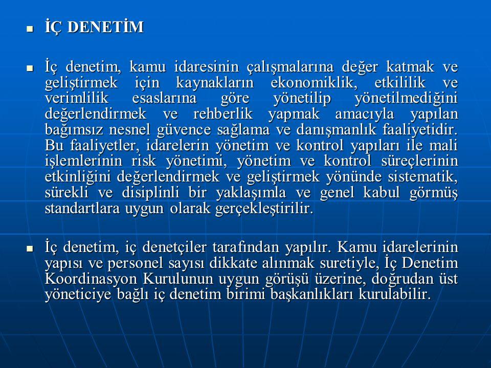 İÇ DENETİM