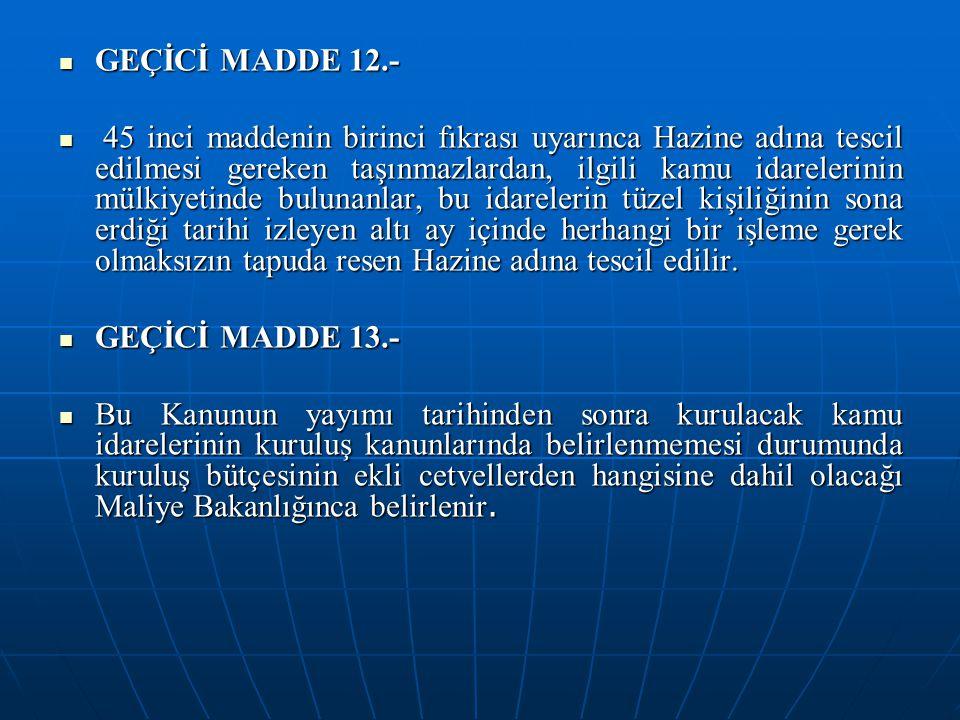 GEÇİCİ MADDE 12.-