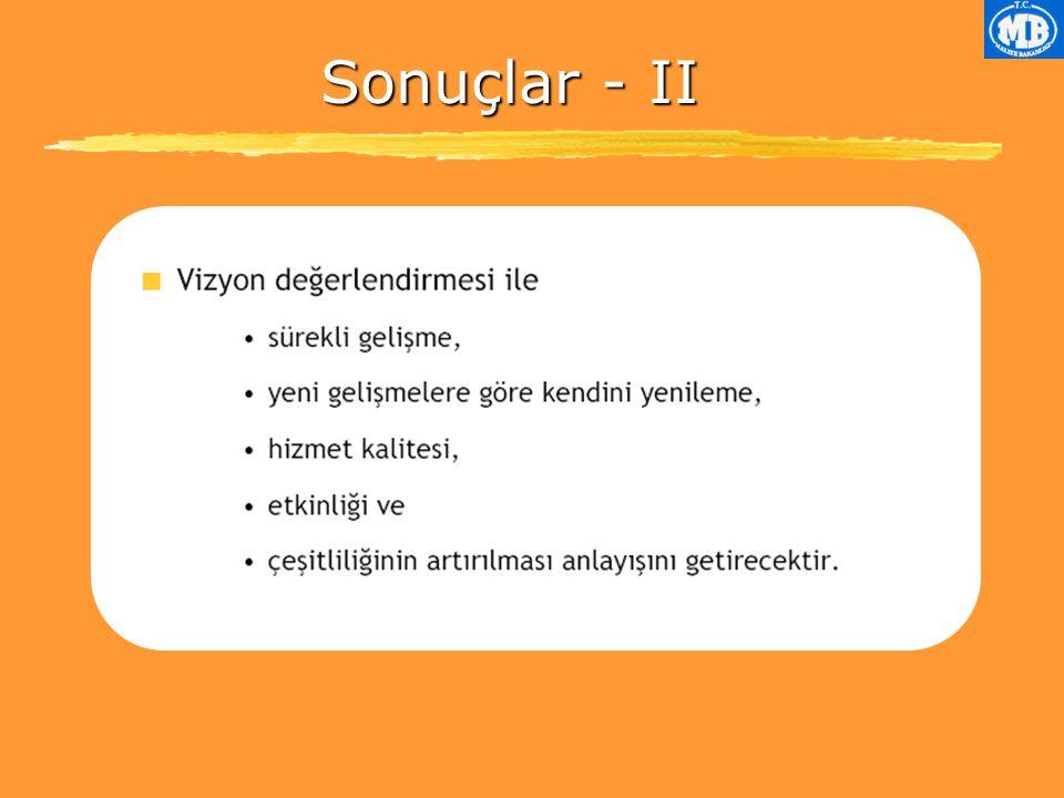 Sonuçlar - II